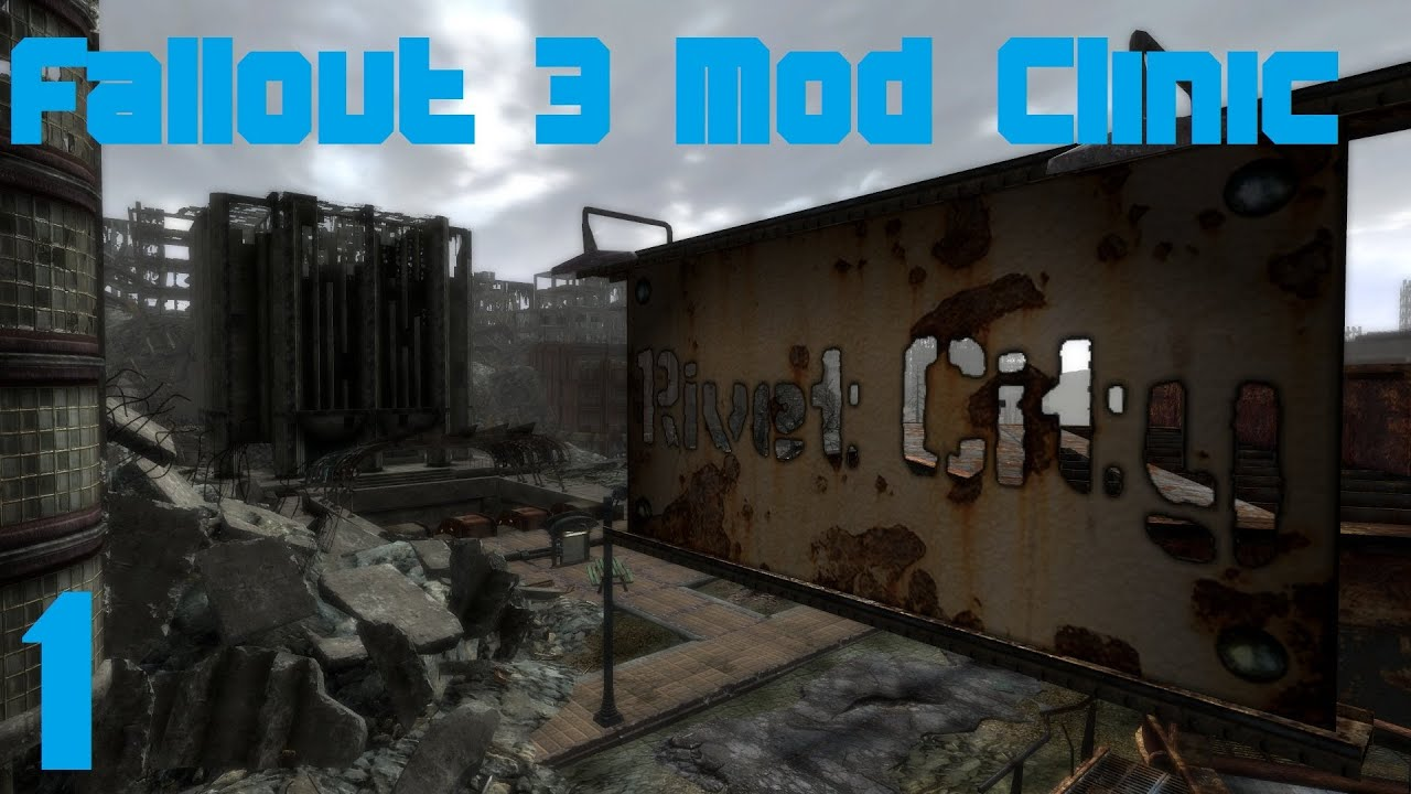 Gophers Vids » Fallout 3 Mod Clinic part 1 : Remastered, Blackened