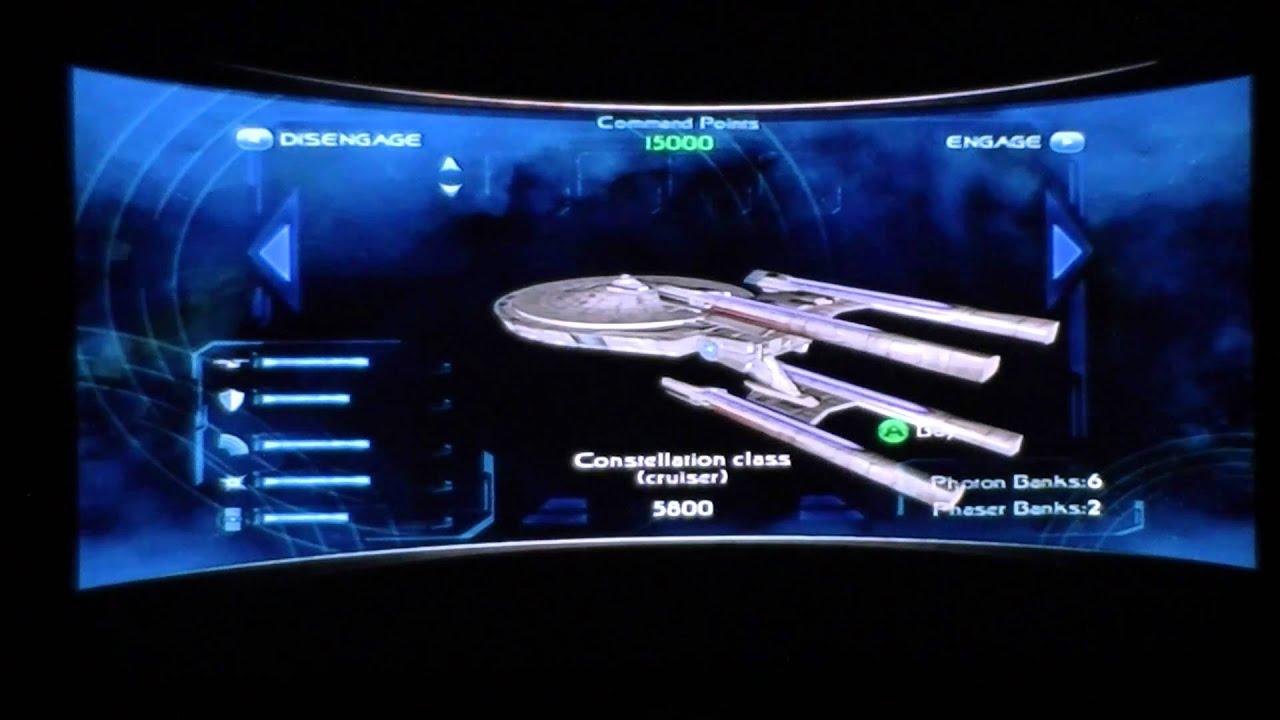 startrek legacy ship selection starfleet youtube rh youtube com star trek legacy achievement guide Star Trek Legacy Class Starship