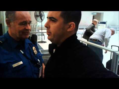 TSA Opt Out Groping: Listen to what the TSA Agent Says