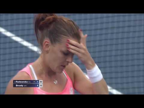 Make It Count: Agnieszka Radwanska vs. Naomi Broady