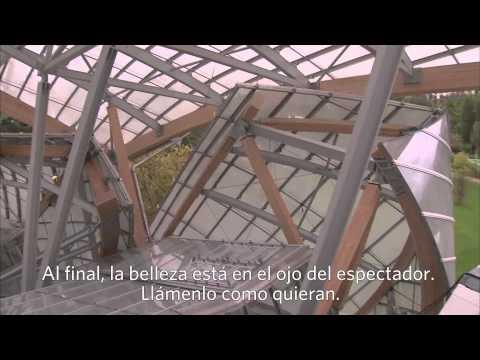 Entrevista con Frank Gehry sobre su obra para la Fundación Louis Vuitton en Francia.