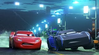 CARS 3 ALL TRAILERS + MOVIE CLIPS - 2017 Pixar Animation