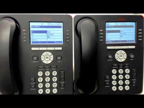 3 AVAYA IP Office: Transfer, Call Park, Paging 9508