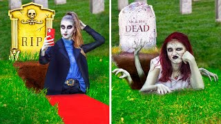 Rich vs Broke Zombie / 14 Funny Situations