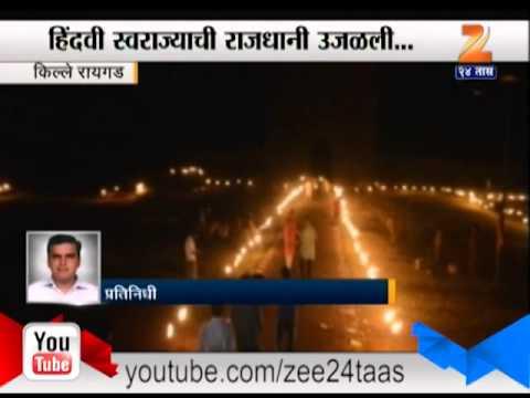 Raigad Fort Diwali Celebration