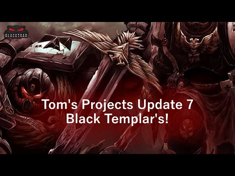 Project update 7 - Black Templar Crusade