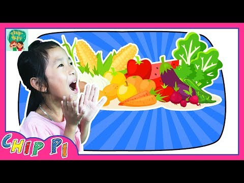 Learn Names Fruits and Vegetables for Kids in English Videos