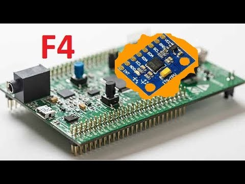 Stm32F4 MPU6050 Angle Values ( I2C + USART ) - VN31