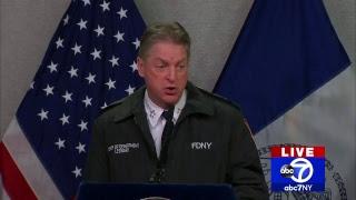 Snow update: Mayor Bill de Blasio briefs NYC on snow storm