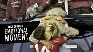 Jake Coker's emotional moment after the 2015 SEC Championship