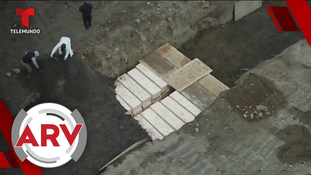 Coronavirus: Nueva York entierra cadáveres en una fosa común | Al Rojo Vivo | Telemundo