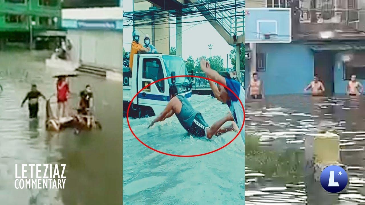 Swimming Sa Baha Road To Gold Medalist Sa Olympics Funny Videos Compilation