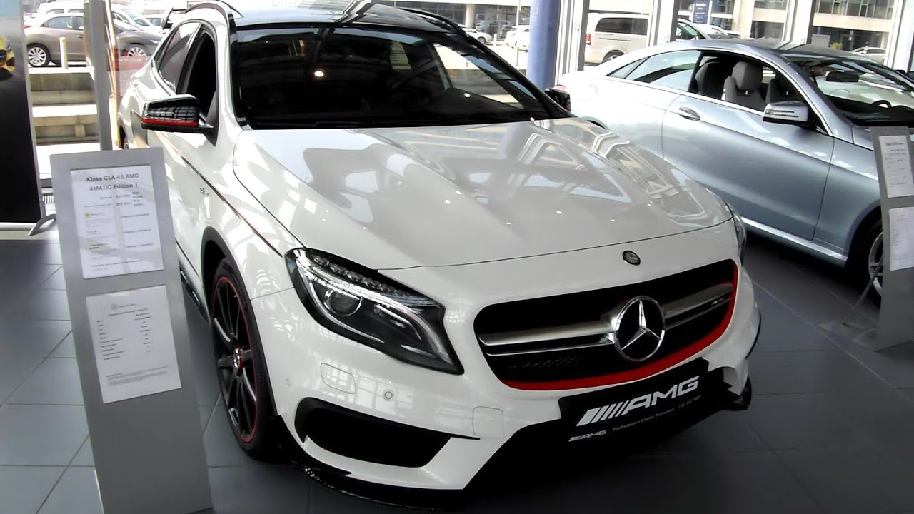 2015 mercedes gla 45 amg 4matic edition 1 chassis review exterior