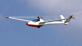 Jet Powered Sailplane - PBS TJ 100 Jet Engined Salto Glider