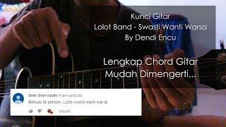 kunci gitar Lolot Band - Swasti Wanti Warsa