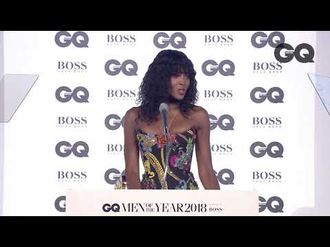 Naomi Campbell wins Fashion Icon of the Year | GQ Awards 2018 | British GQ