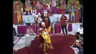 Shiv Tandav (Dance) Jhanki in Live Jagran By Raju Uttam Jagran Party Ludhiana Punjab