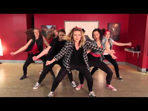 Uptown Funk - Mark Ronson and Bruno Mars; Choreography @DustinPym