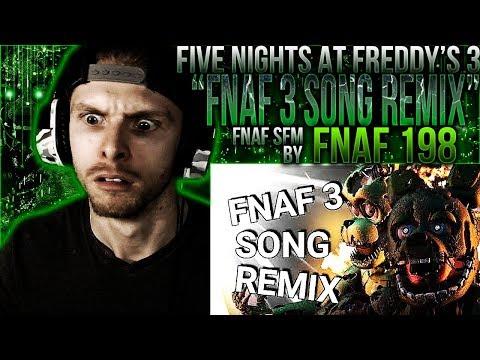 Vapor Reacts #593 | [FNAF SFM] FNAF 3 SONG REMIX ANIMATION