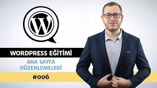 Wordpress E-Ticaret Sitesi Ana Sayfa Düzenlemeleri - Wordpress Eğitimi #006