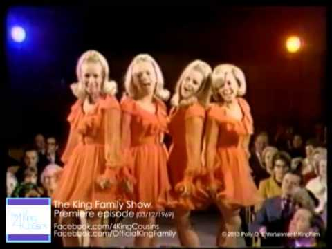 The Four King Cousins Perform On Premiere Of 1969 King Family Show