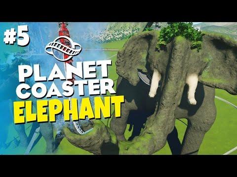 Planet Coaster - Amoosement Park #5 - Mount Elephant