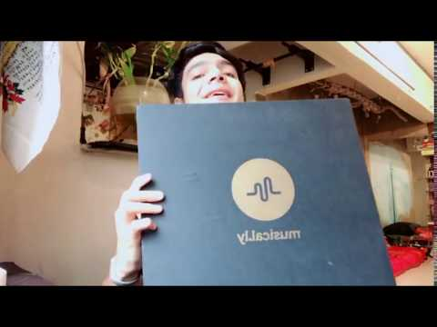 Paras Tomar Unboxing Musically Kit