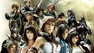 Dissidia 012 Final Fantasy – The Movie / All Cutscenes + Full Story