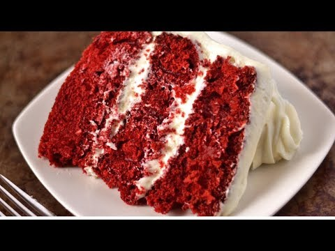 SUPER MOIST RED VELVET CAKE RECIPE! | HOW TO MAKE RED VELVET CAKE