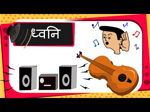 Science -  Sound - Music or Noise (for children) -  Hindi