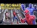 Spider-Man VS Bruno Mars