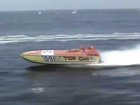 EPIC 80's Offshore Powerboat Racing! TOP CAT Race Team
