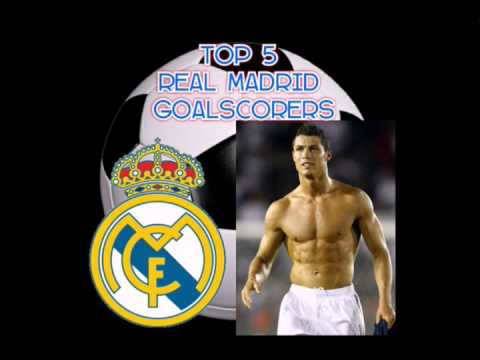 TOP 5 REAL MADRID GOALSCORERS OF ALL TIME