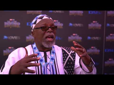 Premierer Black Panther South Africa - Itw Doctor John Kani (official video) streaming vf