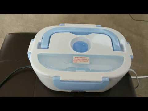 Electric Heating Lunch Box, 2 In 1 Portable Electric Food Warmer Lunch Heater Review, My New Favorit
