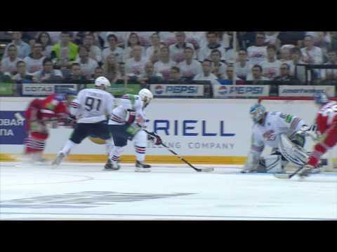Gagarin Cup Final. Lev Prague - Metallurg Mg 5:4OT. Series 3-3