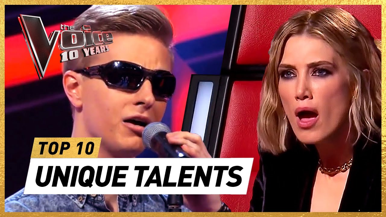 UNBELIEVABLY UNIQUE Blind Auditions in 10 years of The Voice