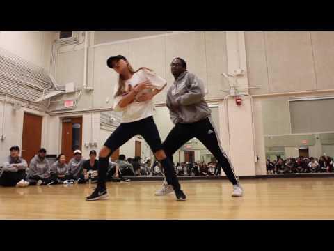 """David Hart and Jisoo Yu — Ciara """"Promise"""" Choreography"""