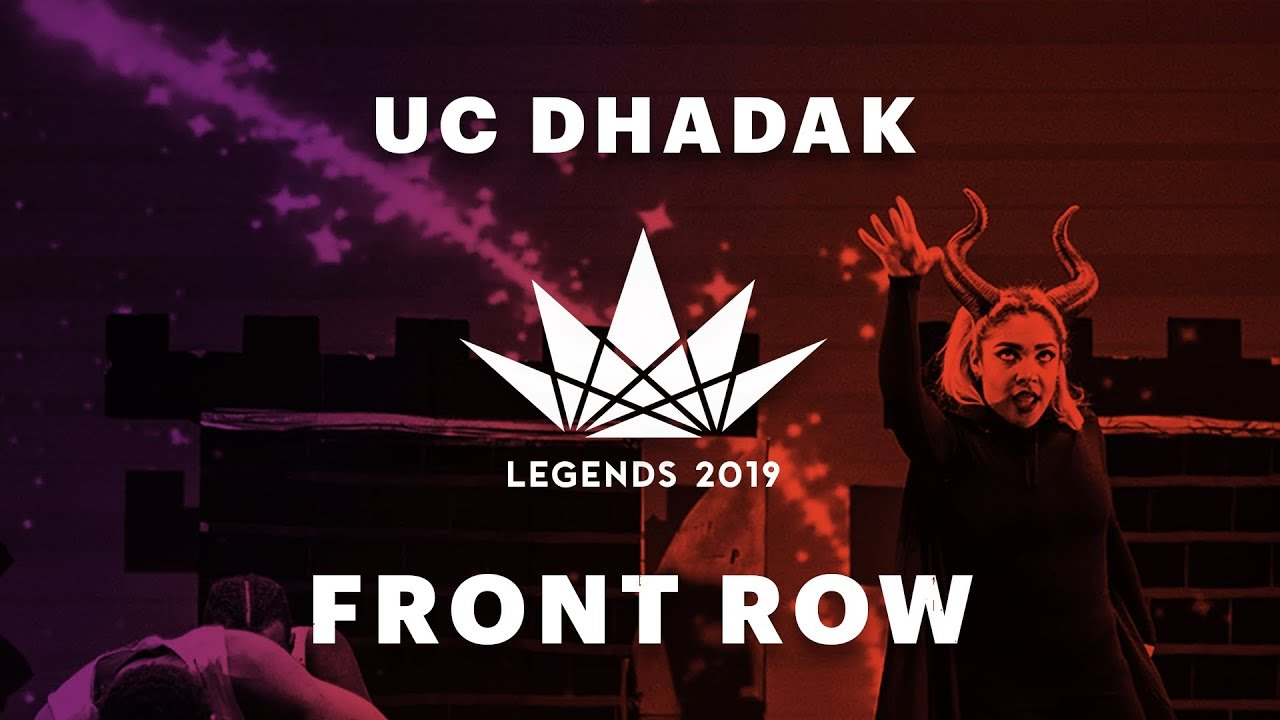 UC Dhadak | LEGENDS Bollywood Dance 2019 | [@VIBRVNCY Front Row] HD