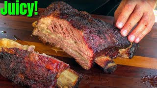 BBQ Beef Ribs On The Big Green Egg | Smoked Beef Ribs Recipe | Ballistic BBQ