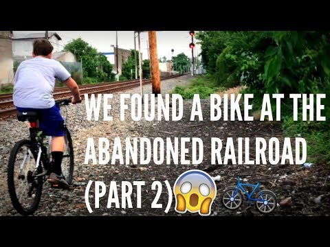 WE FOUND A BIKE AT THE ABANDONED RAILROAD (PART 2)
