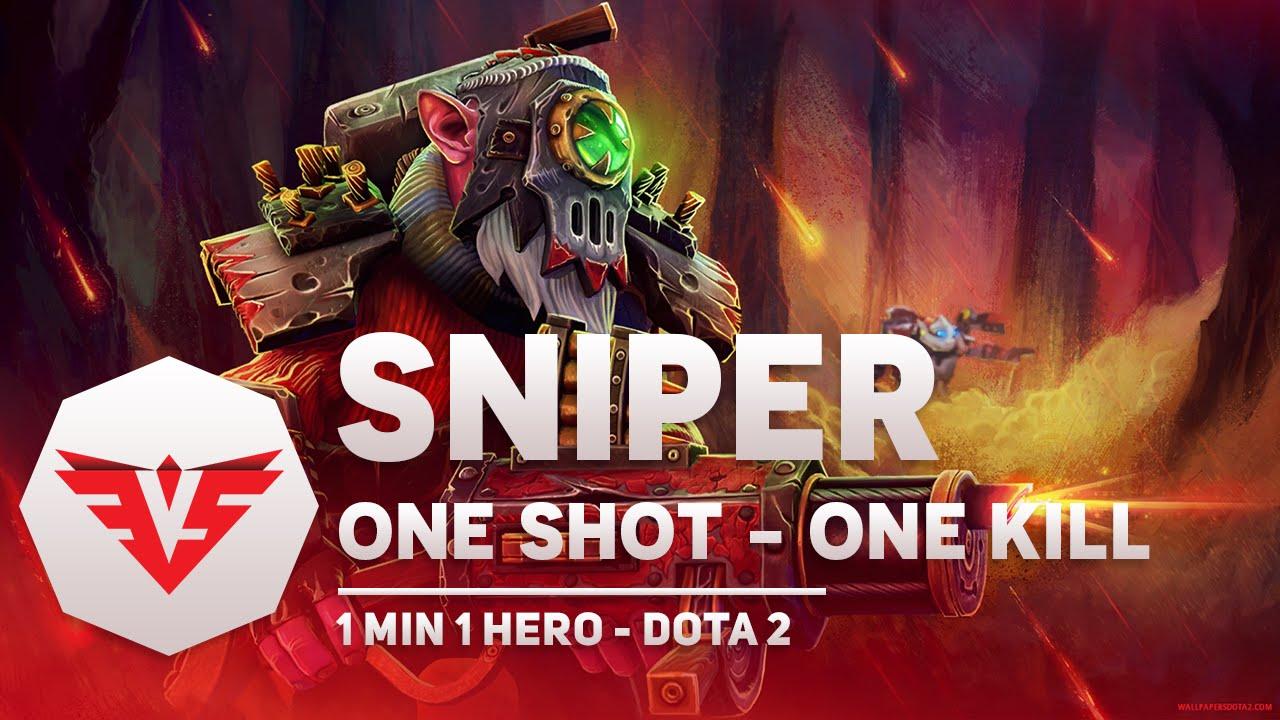 Học chơi Sniper – Dota 2 trong vòng 1 phút | 1 Min 1 Hero Dota 2