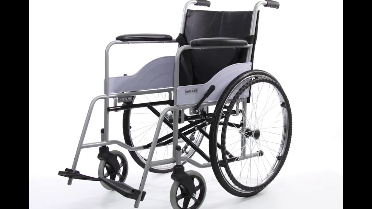 Wollex W216 Klozetli Manuel Tekerlekli Sandalye Youtube