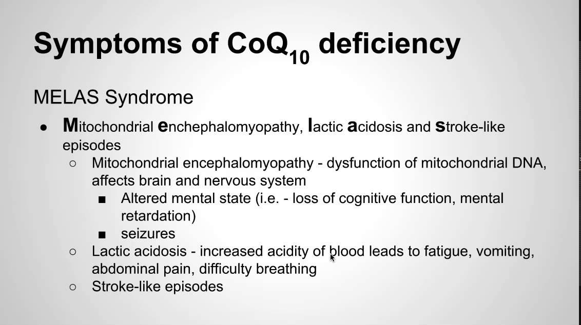 q10 deficiency