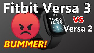 FITBIT VERSA 3 - Watch before you buy! *UNSPONSORED REVIEW* (you might want to wait!)
