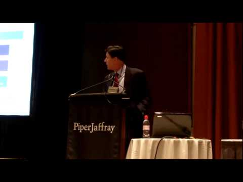 Joe Toms Presenting Lending Club at Piper Jaffray Conference 2010