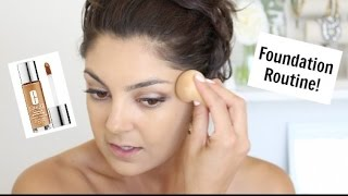 foundation routine   clinique beyond perfecting foundation concealer