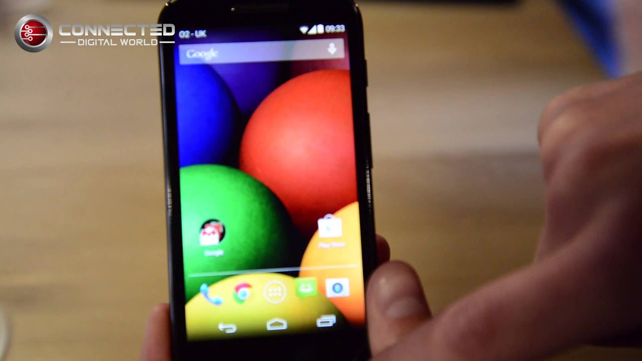A Quick Look At The New Motorola Moto E Android Smartphone