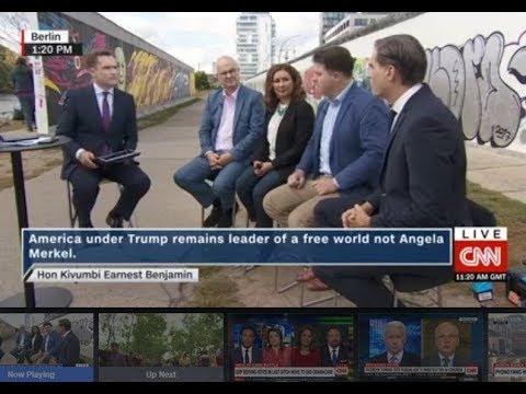 CNN & Kivumbi Is Angela Merkel the New Leader of a Free World?