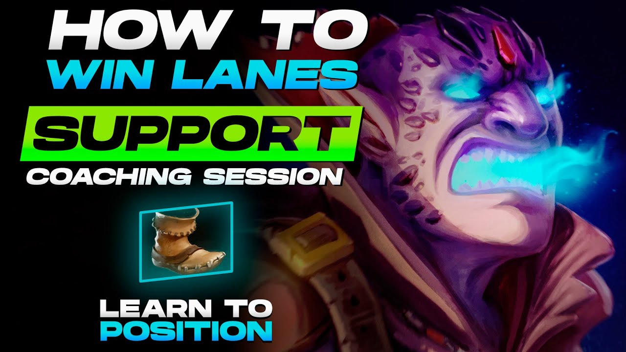 How to lane like an Immortal Support